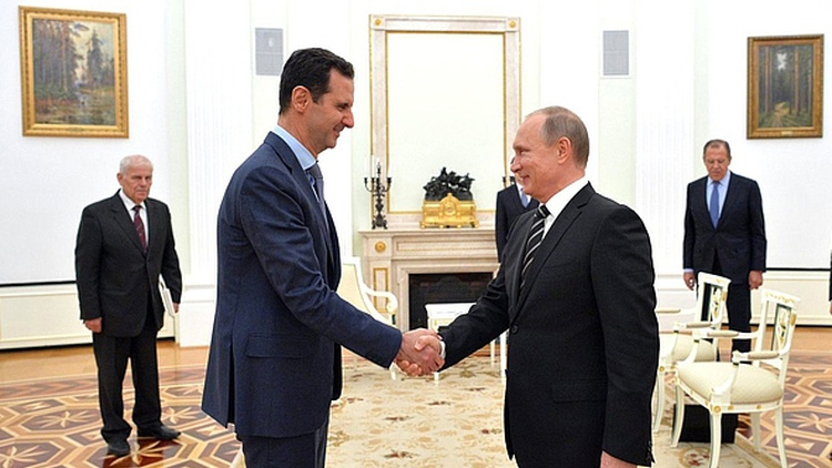 It appears that Syria's President Bashar al-Assad is not staying home anymore because he's afraid of a coup.