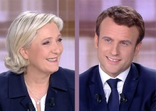 In the French election, globalists vs. nationalists