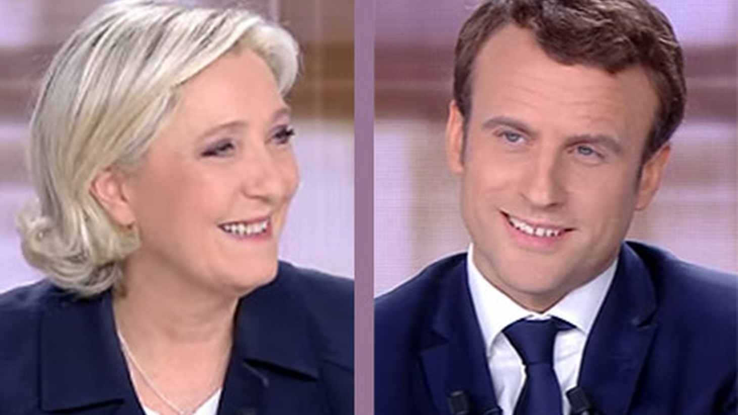 On Sunday, French voters will choose between Marine Le Pen and Emmanuel Macron in a unique presidential election. For the first time, neither candidate represents one of the major parties that have led the country before. And the two have radically different visions. Macron is for globalization and European integration.