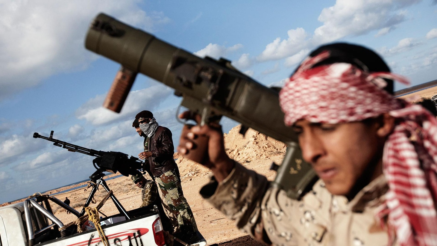 Moammar Gadhafi appears to have staved off the rebel onslaught, at least for the moment. With Libya divided, is it time for international intervention. What are the risks for the US to lead the way? What are the risks of inaction? Also, gas prices jump 33 cents in two weeks, and a hearing on Muslim Americans and terrorism. On Reporter's Notebook, are Peter King's hearings on Muslim Americans and terrorism a defense requirement or hypocrisy?