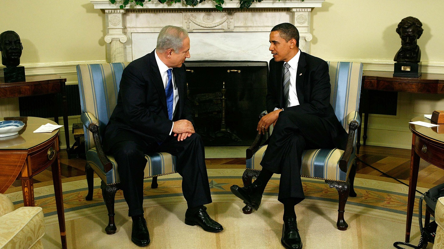 Israeli Prime Minister Netanyahu is at the White House today for the first in a string of meetings that will help define President Obama's policies in the Middle East. Also, Sri Lanka's rebel Tamil Tigers are routed and their leader killed, and the Bush Administration and the Rumsfeld legacy.