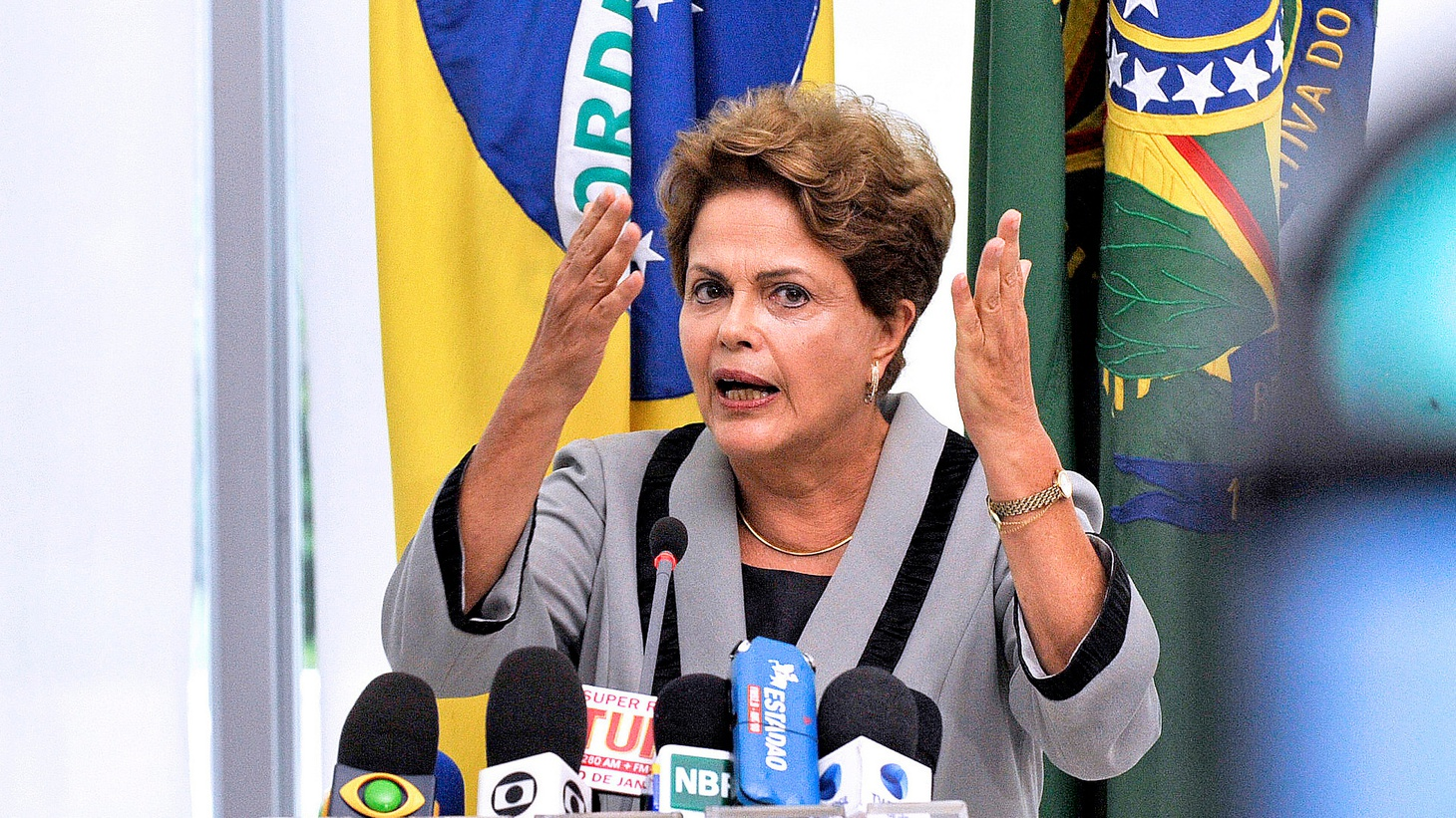 Just months before the Olympics, the President of Brazil is a step closer to being impeached — by other politicians arguably more corrupt than she is.