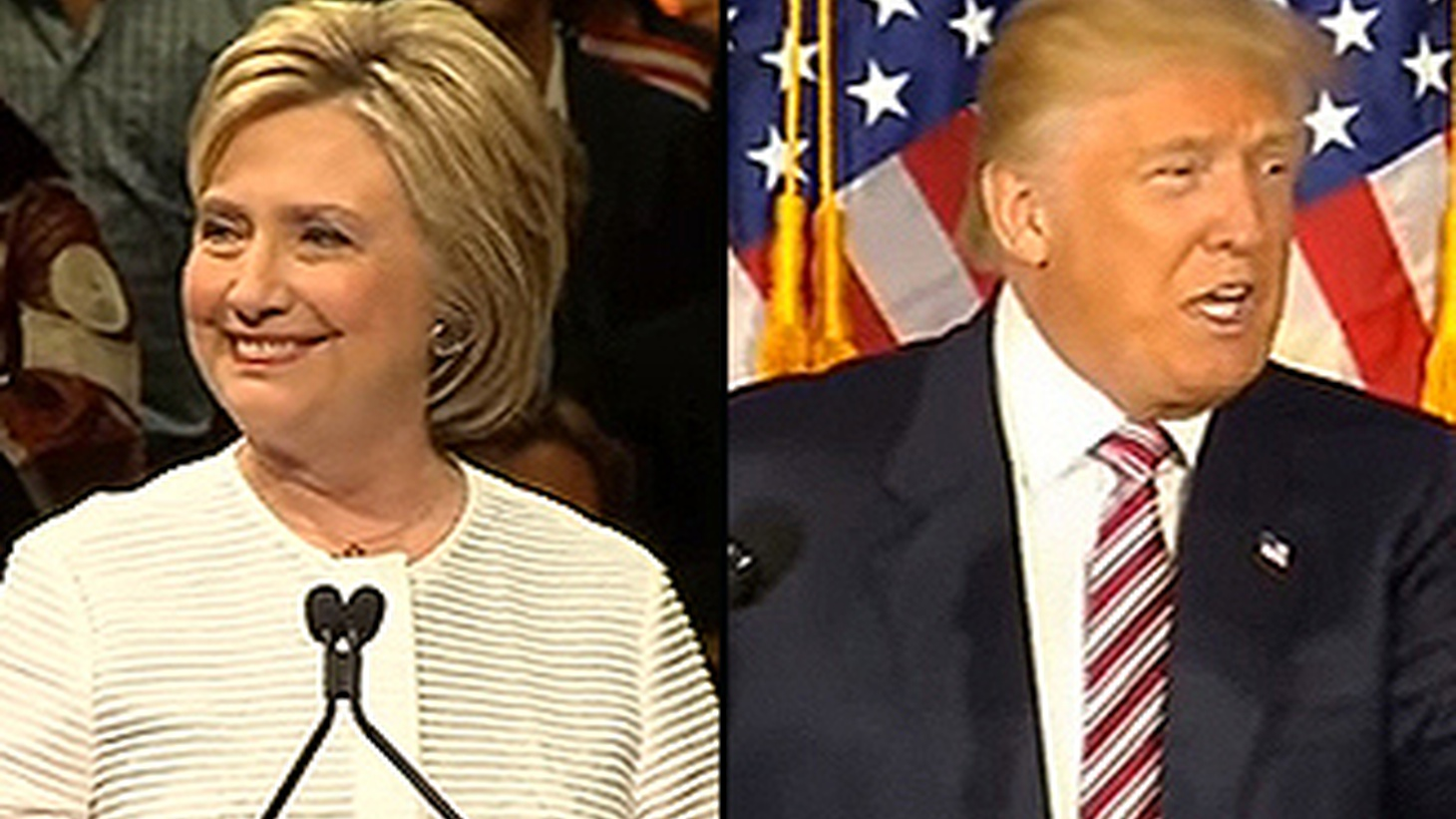 """Hillary Clinton's had the best week of her presidential campaign so far — clinching the Democratic nomination. Donald Trump is having his worst week — denounced for """"racist"""" remarks by his own Republican Party. We look at the end of the primary season as the general election campaign gets underway."""