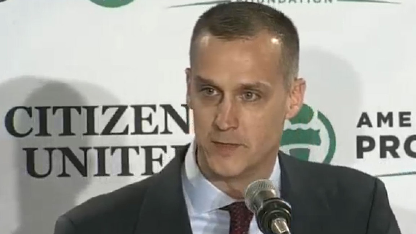 Donald Trump's campaign manager is in trouble, but Trump is backing him to the hilt.