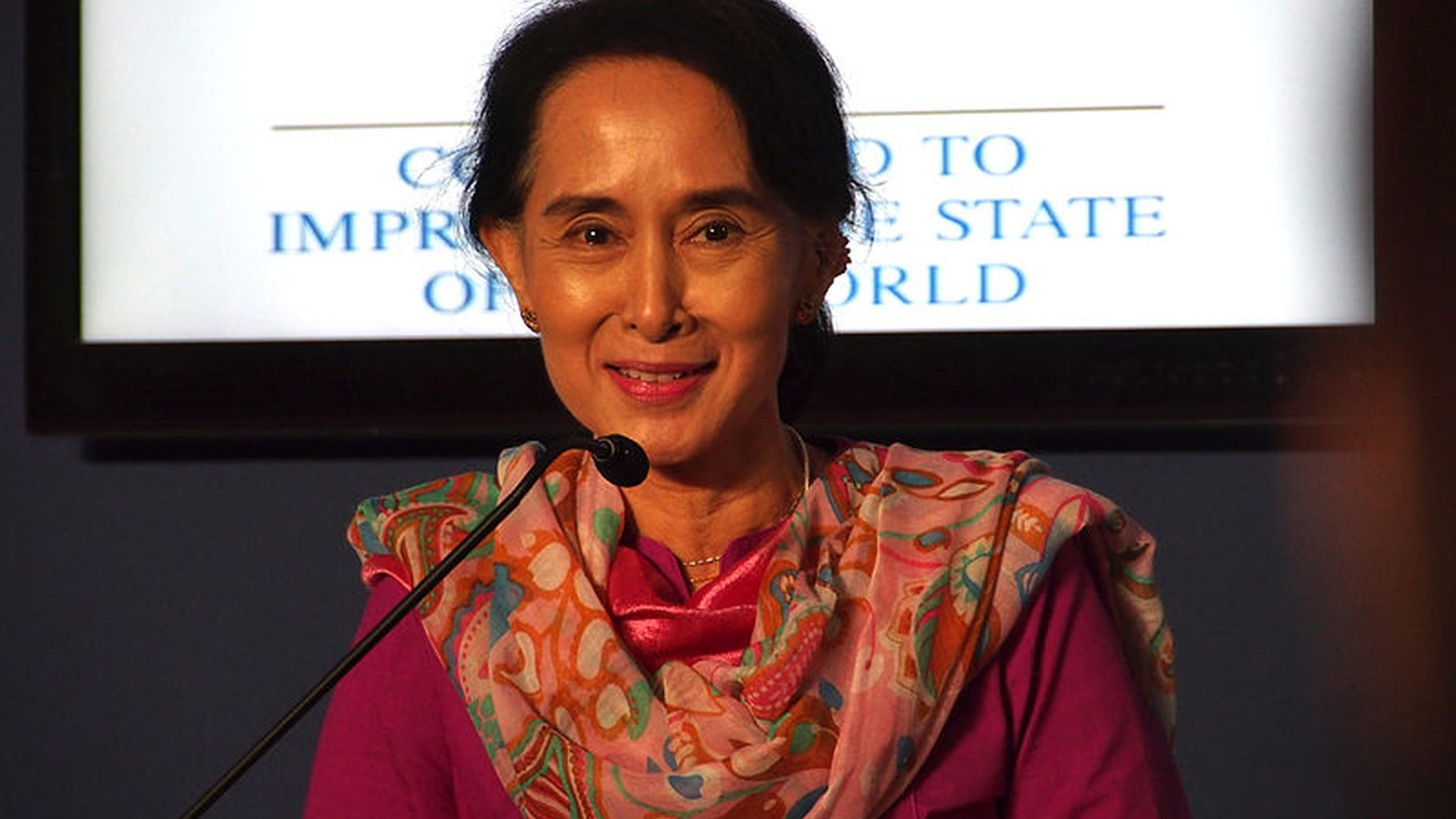 """In Southeast Asian nation of Myanmar — formerly called Burma — the last """"free"""" election was in 1990. The National League for Democracy, led by long-time dissident  Aung San Suu Kyi , won an overwhelming victory. But that led to a brutal crackdown and 20 years of harsh military rule."""