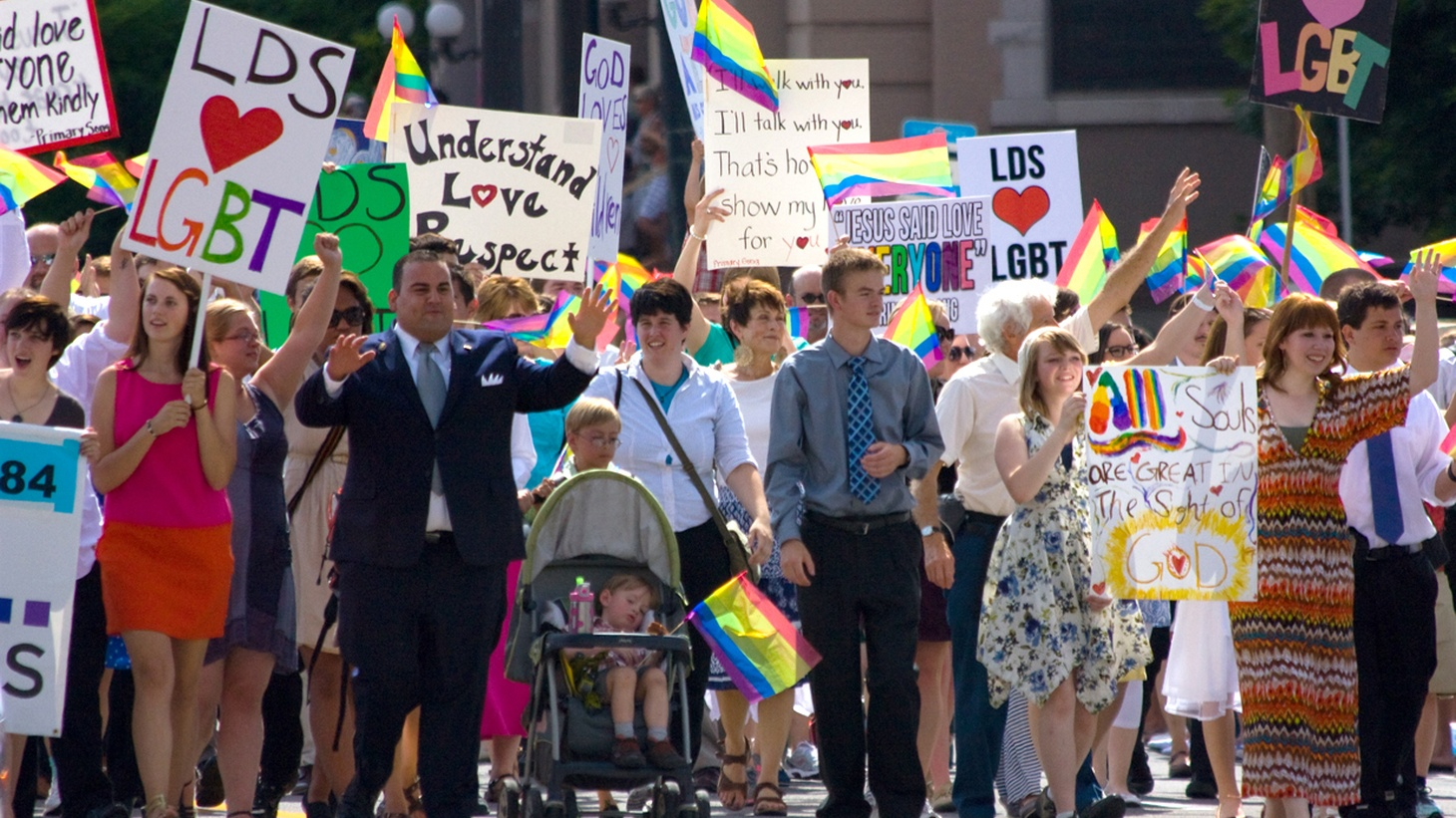 """Last week, Utah enacted a new law protecting the rights of lesbians, gays, bi-sexual and transgender people against some kinds of discrimination. We hear how the so-called """"Utah Compromise"""" got the support of the Mormon Church, which dominates Utah and continues to oppose anything other than heterosexual lifestyles."""