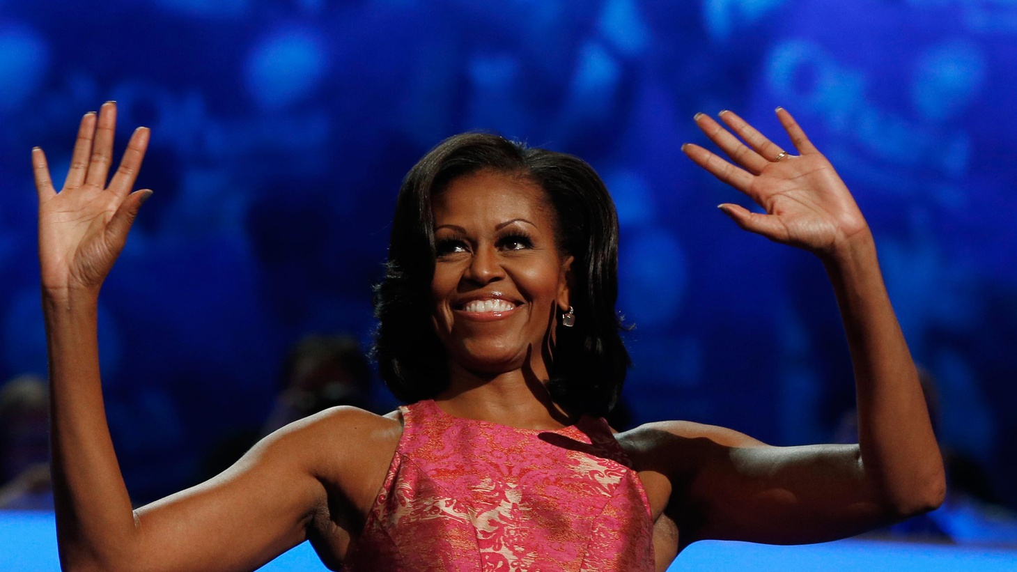 First Lady Michelle Obama got the spotlight last night and brought down a house full of more than 5000 delegates. We hear highlights and hear what's up for tonight.
