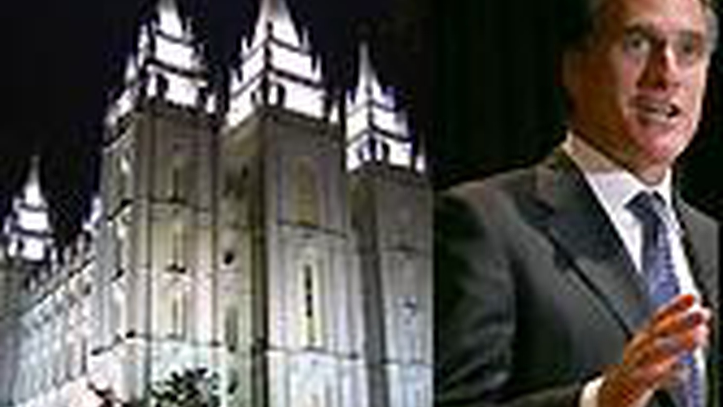 Mitt Romney is a front-running Republican candidate for