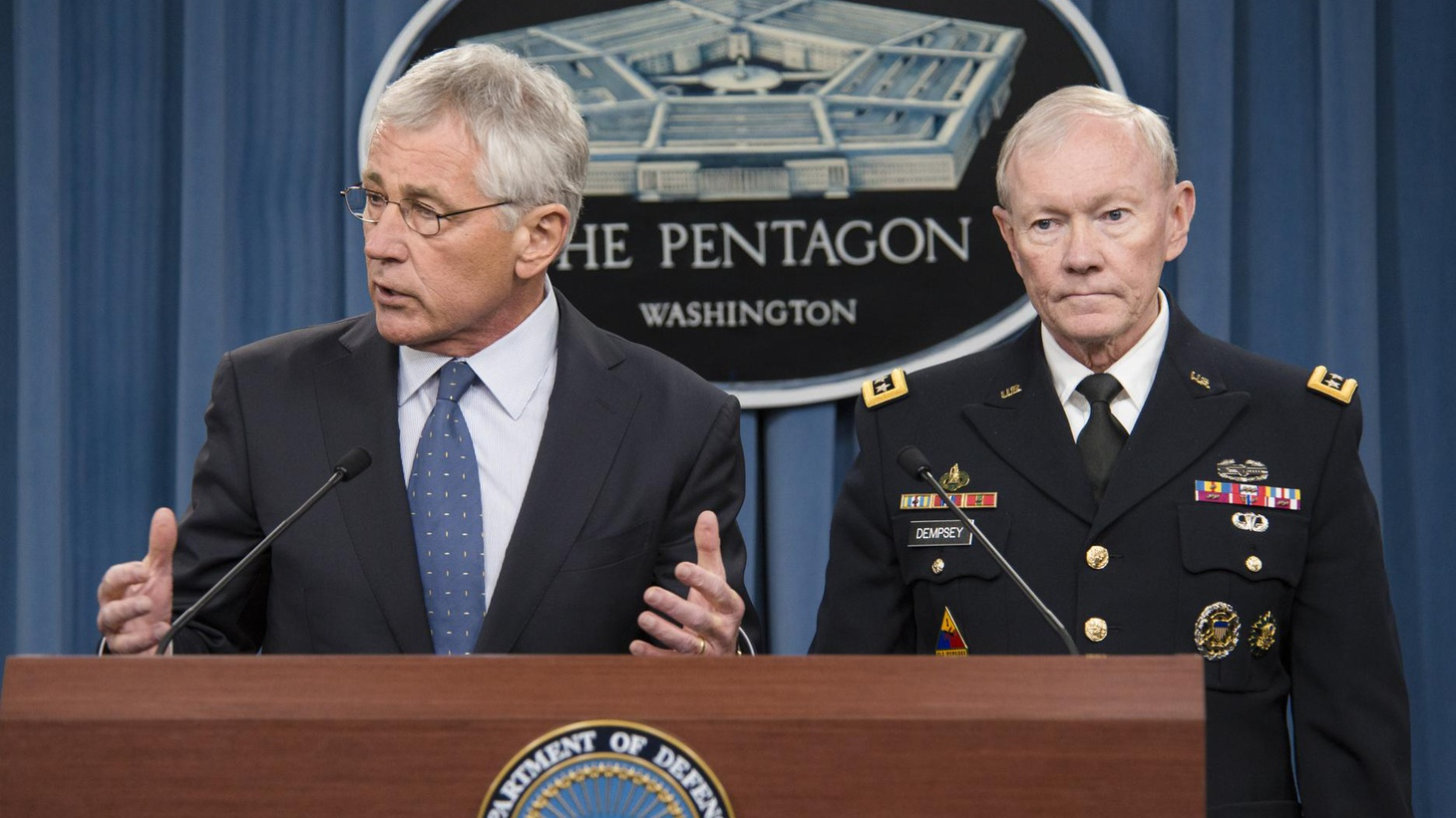 Defense Secretary Hagel wants to cut the Pentagon budget. We hear what he's proposing, what it means for national security and the likely response from Congress.