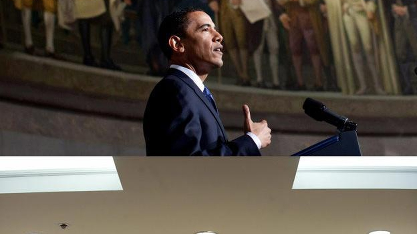 It's being called the debate that was lacking in last year's presidential campaign. We hear the contrasting views of President Obama and former Vice President Cheney in dueling speeches today on national security. Also, four arrests in conspiracy to use MWD in the US, and guns, credit cards and the Democratic majority.