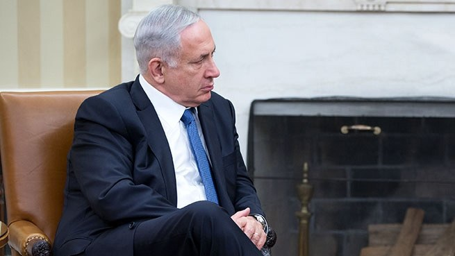 Prime Minister Benjamin Netanyahu of Israel in the Oval Office, Oct 1, 2014.