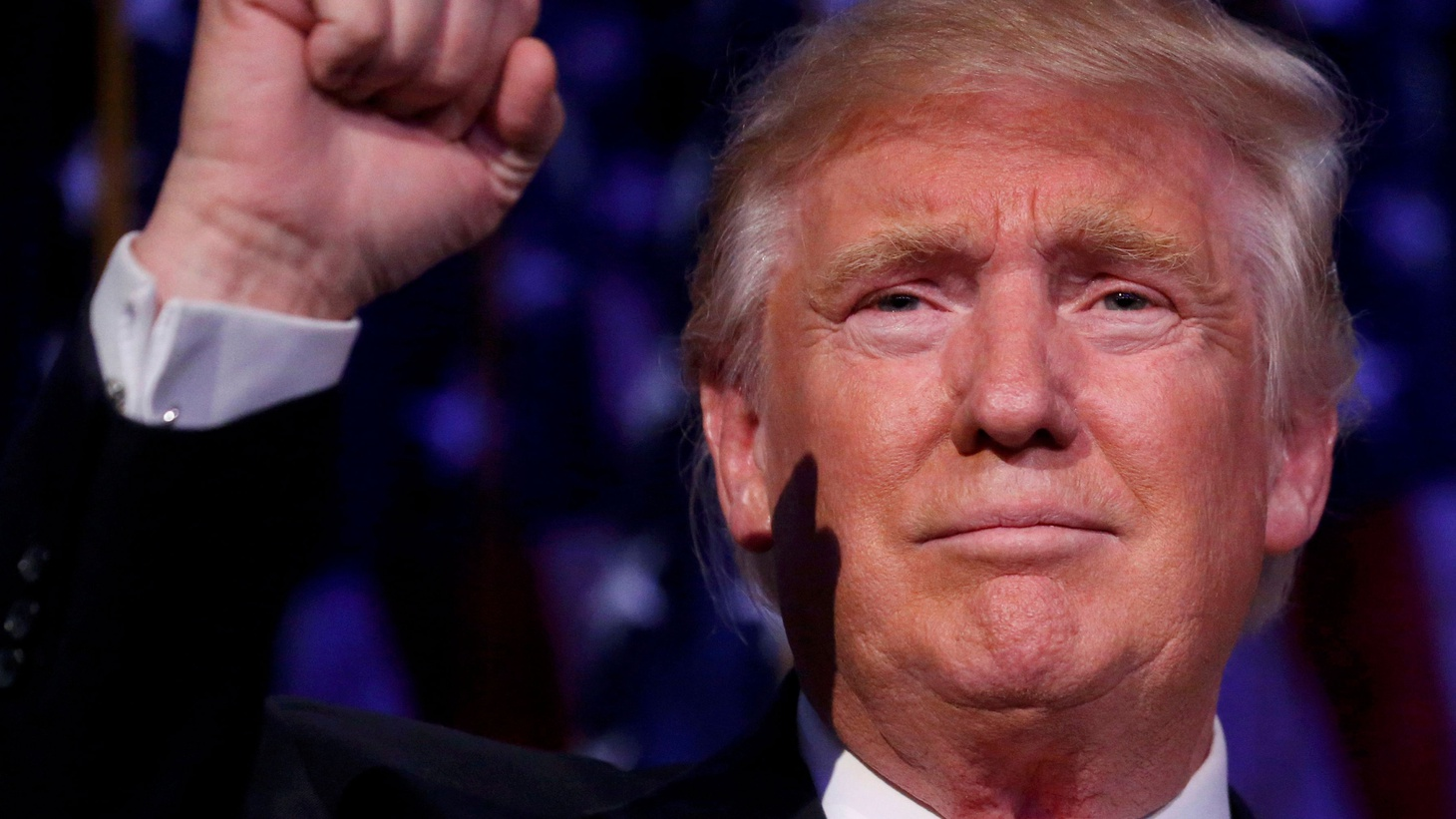 Early this morning, Donald Trump found himself President-elect of the United States in an upset victory over Hillary Clinton — who he threatened to put in jail if he were elected.In a rare tone of conciliation, he gave credit to his opponent.
