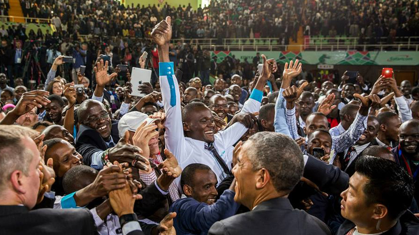 Barack Obama is the first sitting President to visit East Africa, where opportunities for US investment are threatened by both terrorism and counter-terrorism. We hear about his appearances in Kenya and Ethiopia.