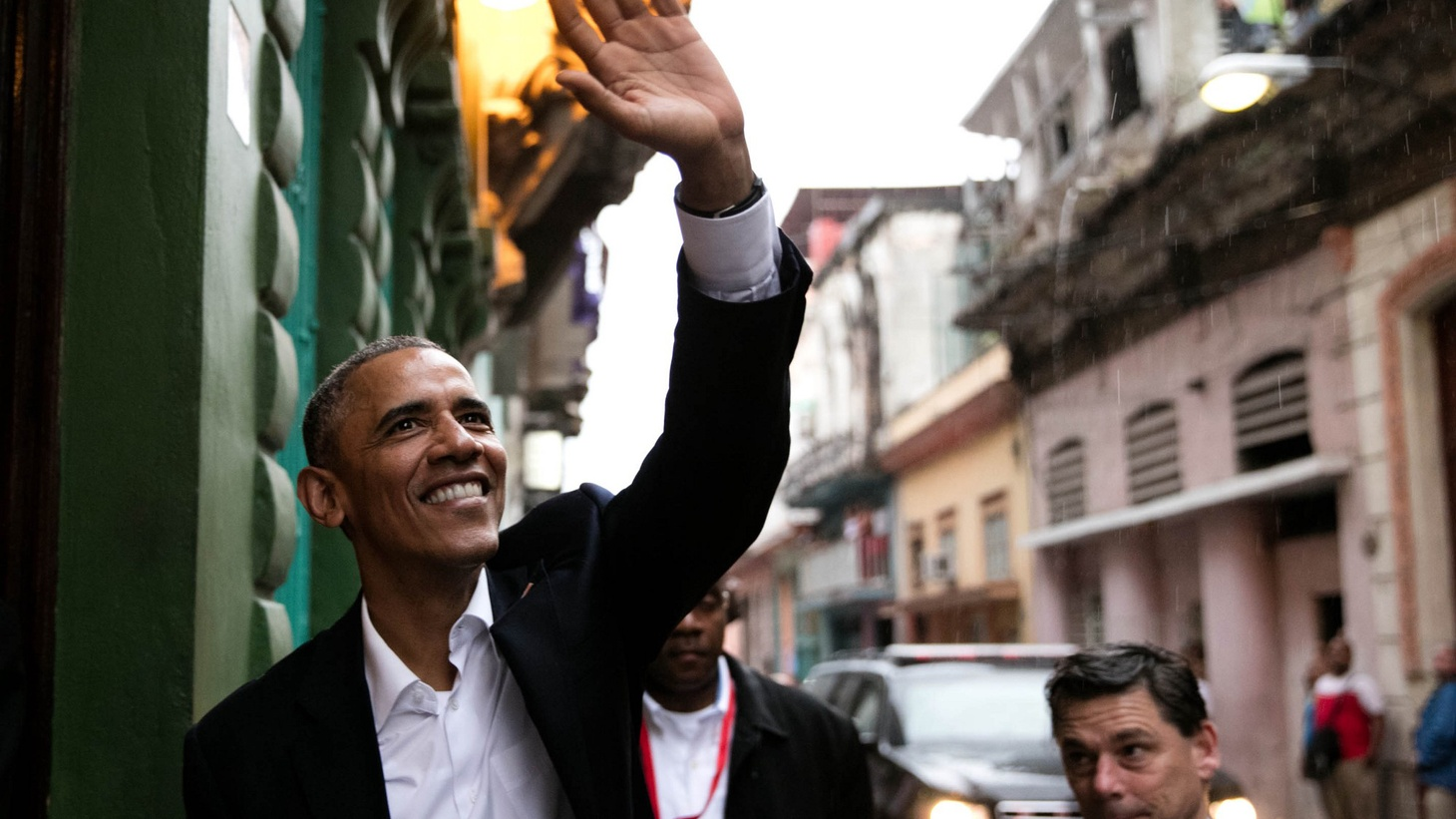For the first time in almost 90 years, an American President has gone to Havana — but it's unclear how much political distance he's traveled. The Castro regime is still rounding up political dissidents, and Congress will not lift the economic embargo. We hear about a historic visit and the potential outcomes.