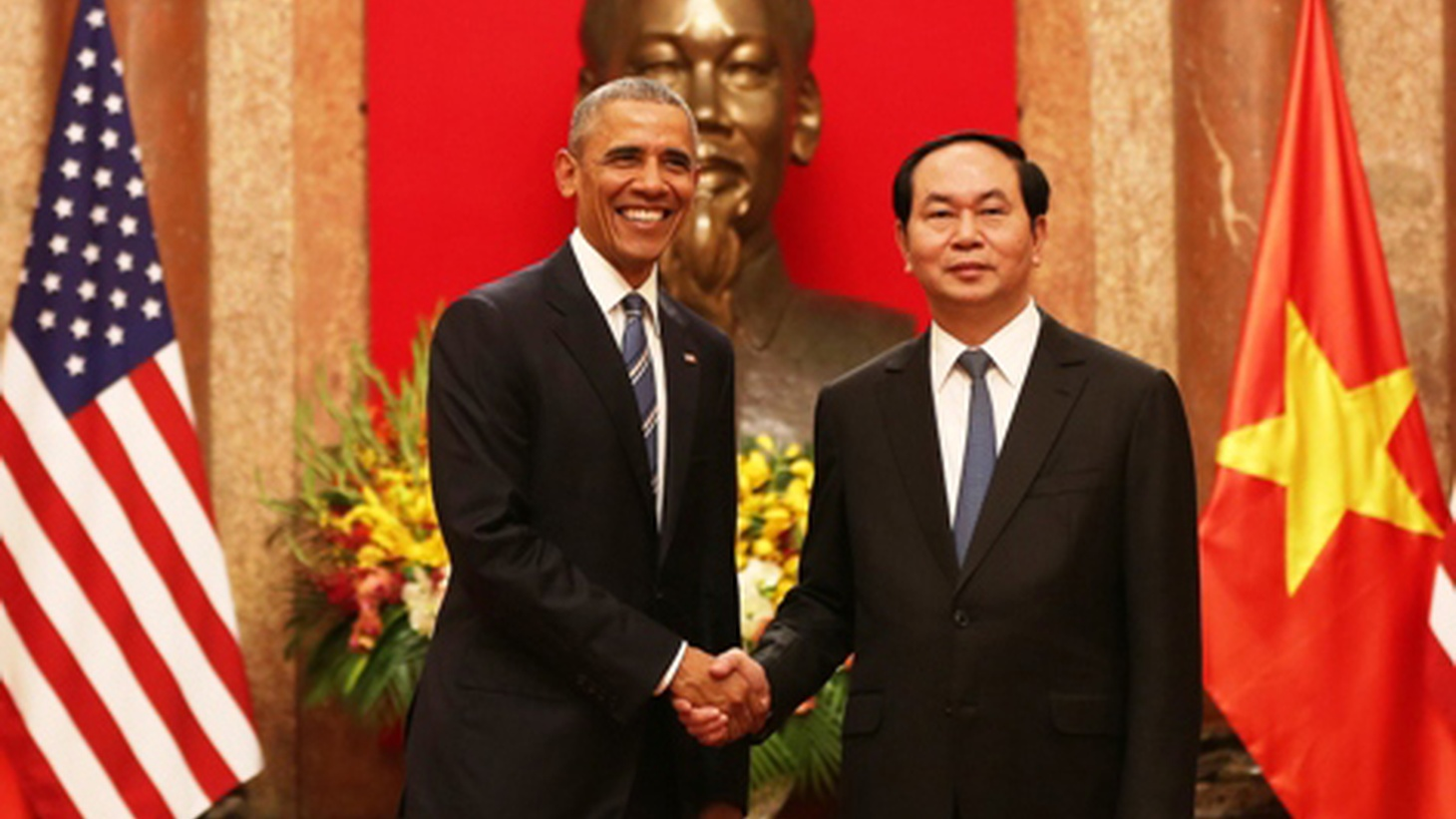 President Obama has arrived in Hanoi and lifted America's long-time embargo on arms sales to Vietnam — this country's one-time enemy in a protracted war. We hear what it has to do with China.