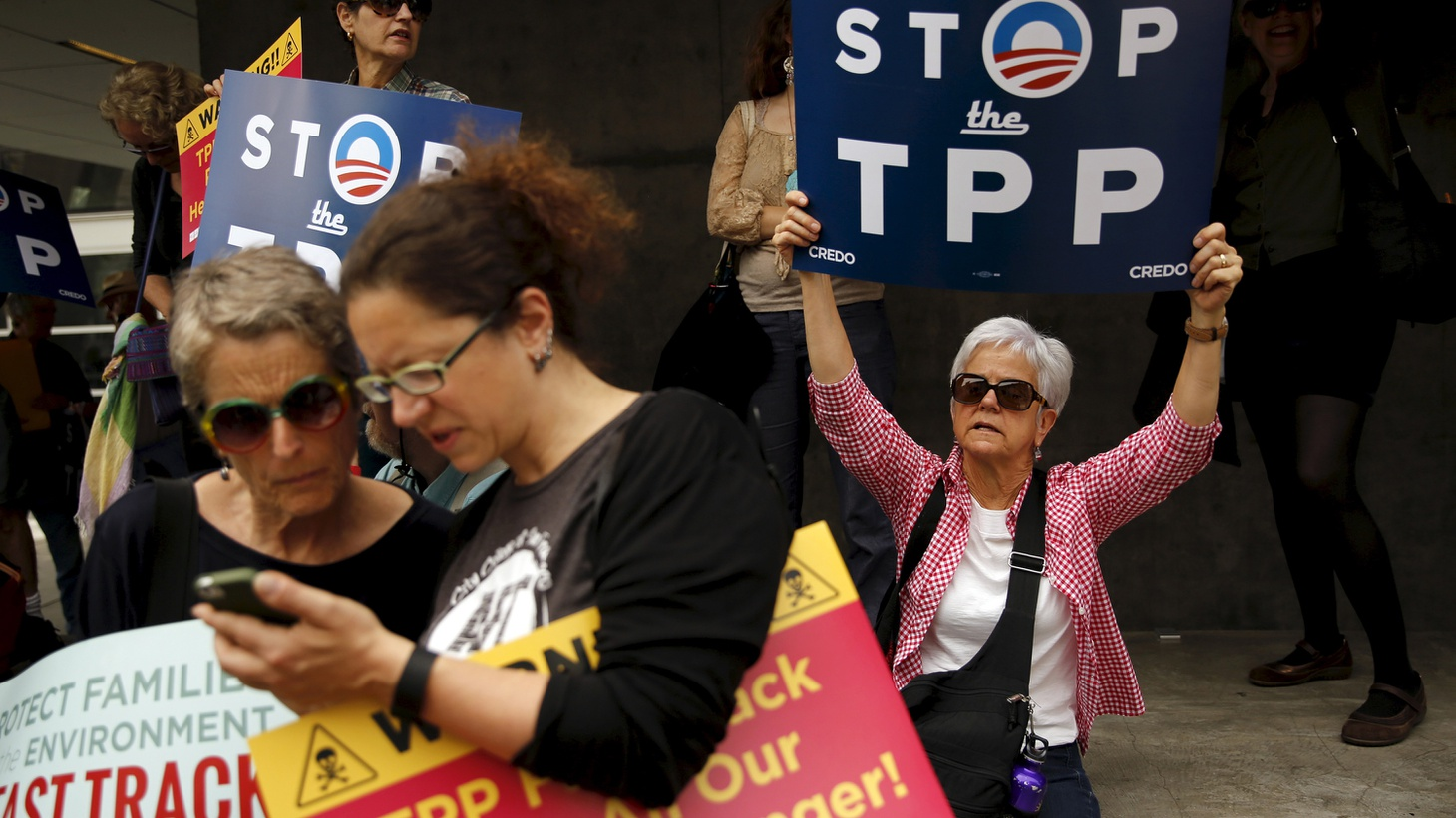 The Trans-Pacific Trade Partnership has been delayed in Congress, while President Obama and Republican leaders try to keep it alive.  We hear about the long-term consequences for Japan, China and a multitude of American interests.