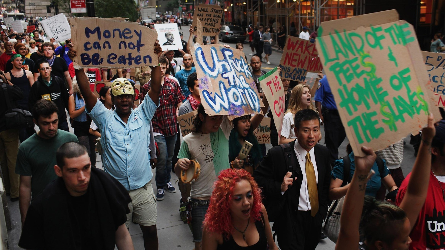 Occupy Wall Street is only two weeks old and 200 strong, but it's trying to use Facebook and Twitter to organize nationwide. Is it part of worldwide discontent with...