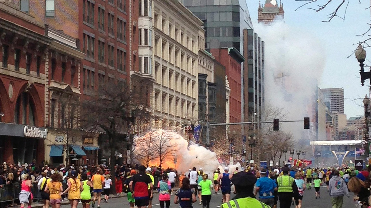 """At least 3 are dead and 170 wounded in yesterday's """"terrorist"""" bombings at the Boston Marathon. We update the story, including the impact on this historic American city."""