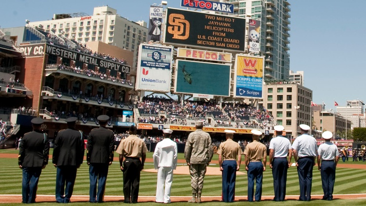 Elaborate celebrations of America's military are common at professional sports events. It turns out that the leagues are being paid by the Pentagon -- with your money.