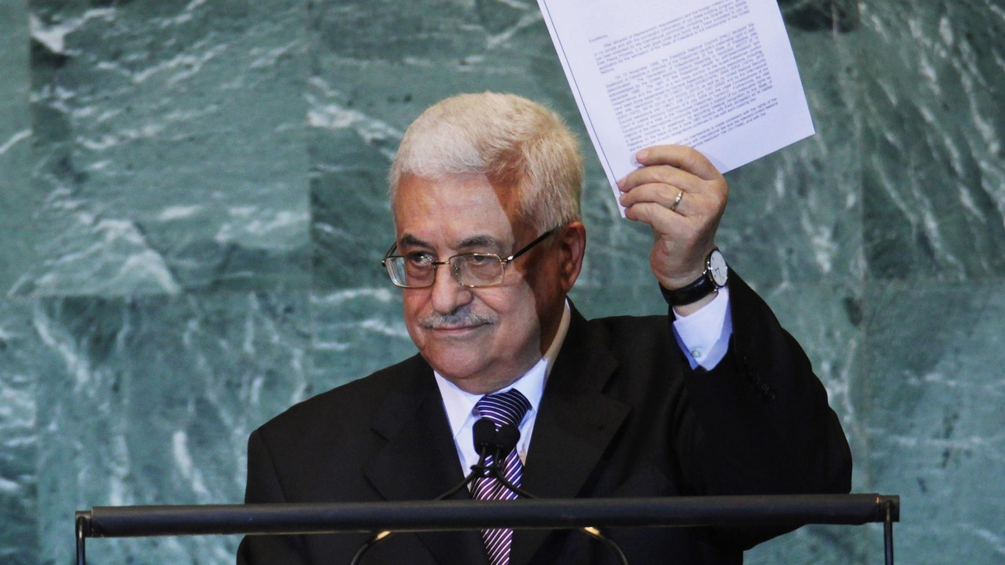 Palestinian leader Mahmoud Abbas has demanded membership in the United Nations. We hear Israel's reaction and what it means for US diplomacy at the UN and in the Middle East.