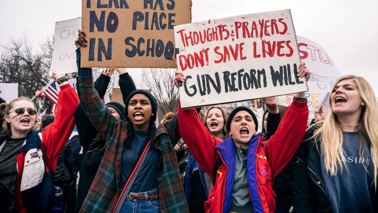 Young people around the country are all fired up after the Parkland shooting. Veteran observers say they're changing the atmosphere of debate about gun control.