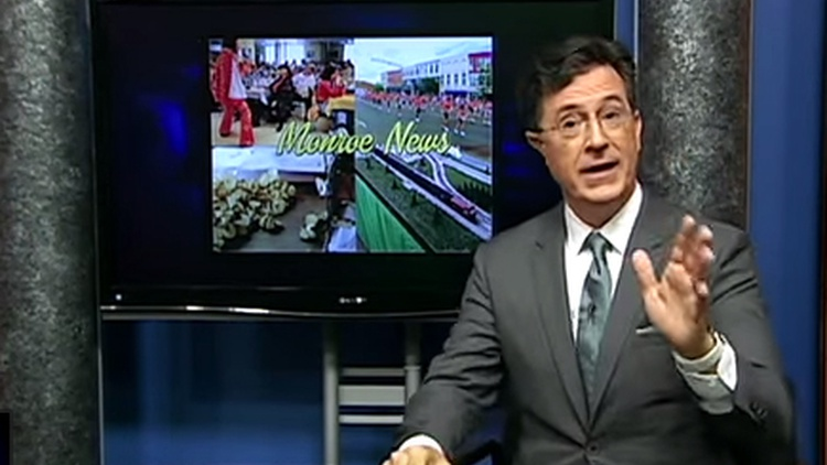 In two weeks when he takes over The Late Show on CBS, Stephen Colbert won't be the character that viewers of The Colbert Report on Comedy Central came to know.
