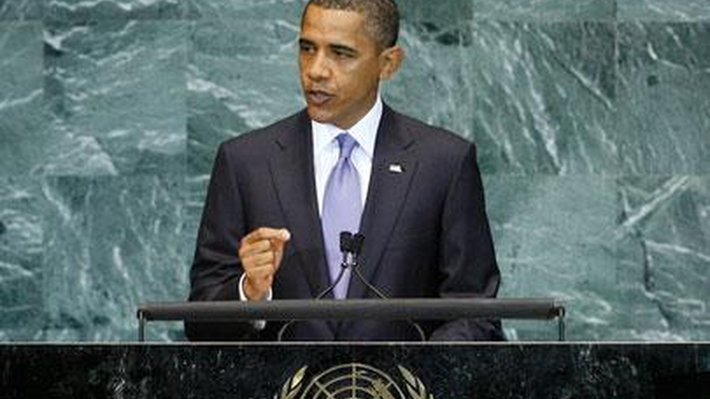 """President Obama made his second major speech to the UN General Assembly today. We hear different opinions about what he said about US engagement with the rest of the world and what he left out. Also, Republicans unveil their """"Pledge to America,"""" and breast cancer and mammograms."""