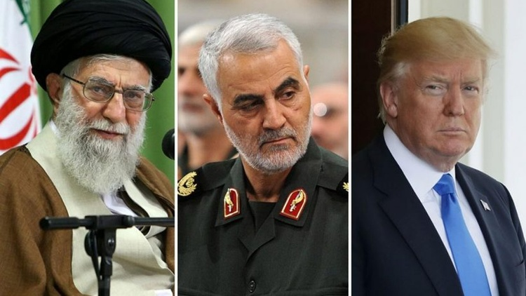 President Trump and Iran's Ayatollah brushed with armed conflict this week. Did it all begin with the U.S.