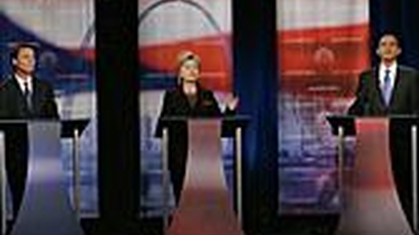 Last night's Democratic presidential debate was the liveliest yet. Also, verdicts in the 2004 Madrid subway bombing, and the Federal Reserve on interest rates.