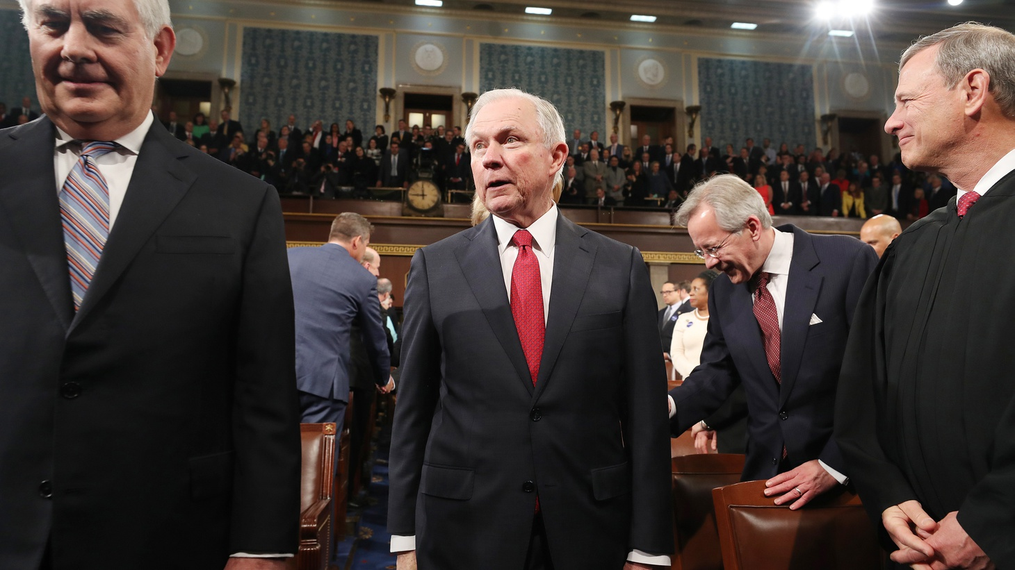 """Attorney General Jeff Sessions is accused of """"misleading"""" fellow Senators during his confirmation hearing — and possibly lying in response to written questions. It's all about whether he met with Russia's ambassador as a surrogate for candidate Donald Trump and an advisor to his presidential campaign."""