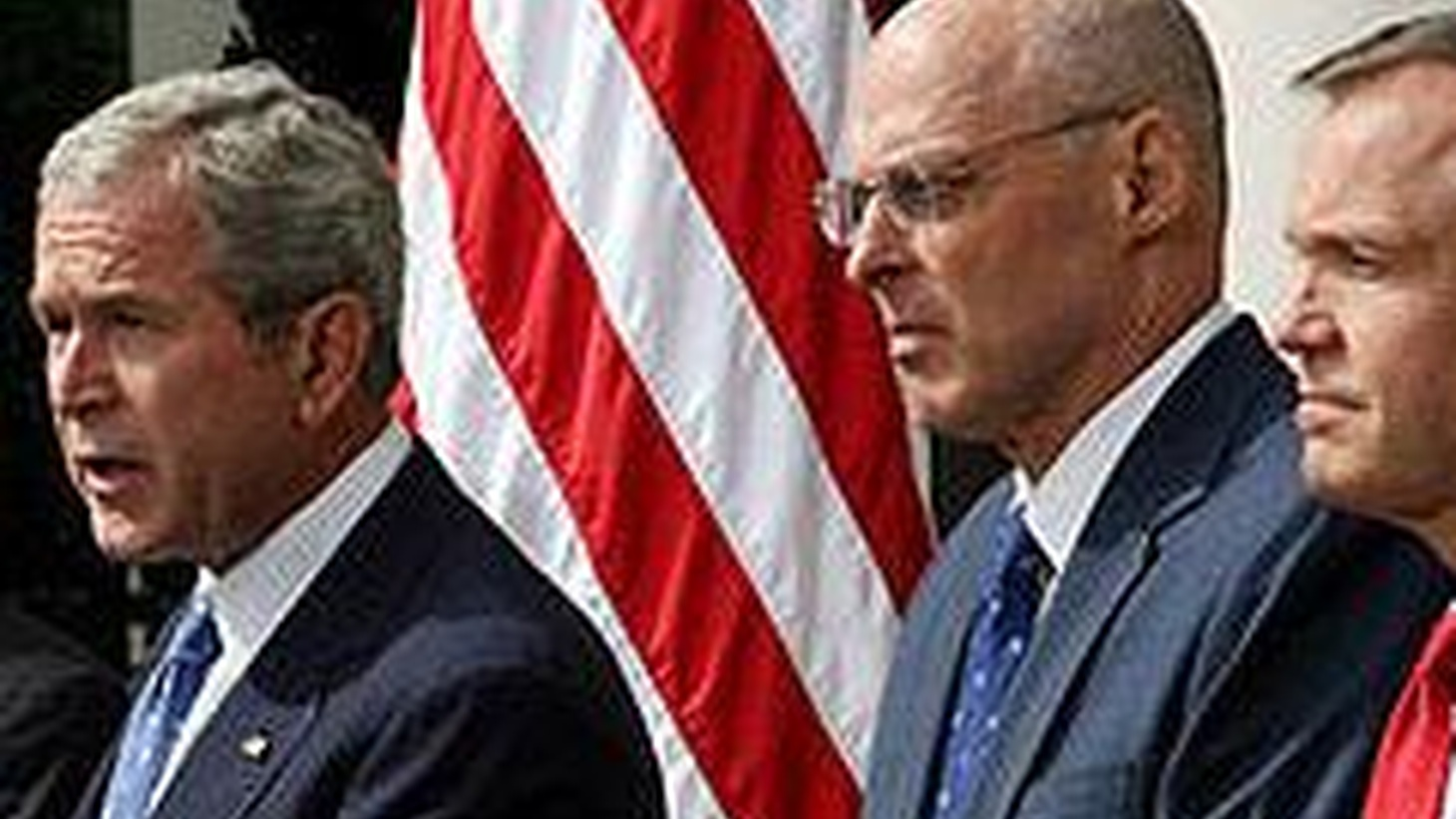 President Bush wants to put up hundreds of billions of taxpayer dollars to save the financial system. He says failing to act would be riskier still. We look the possible consequences of a massive bailout in an election year. Also, New York Times columnist Tom Friedman talks about a grander vision for government spending .