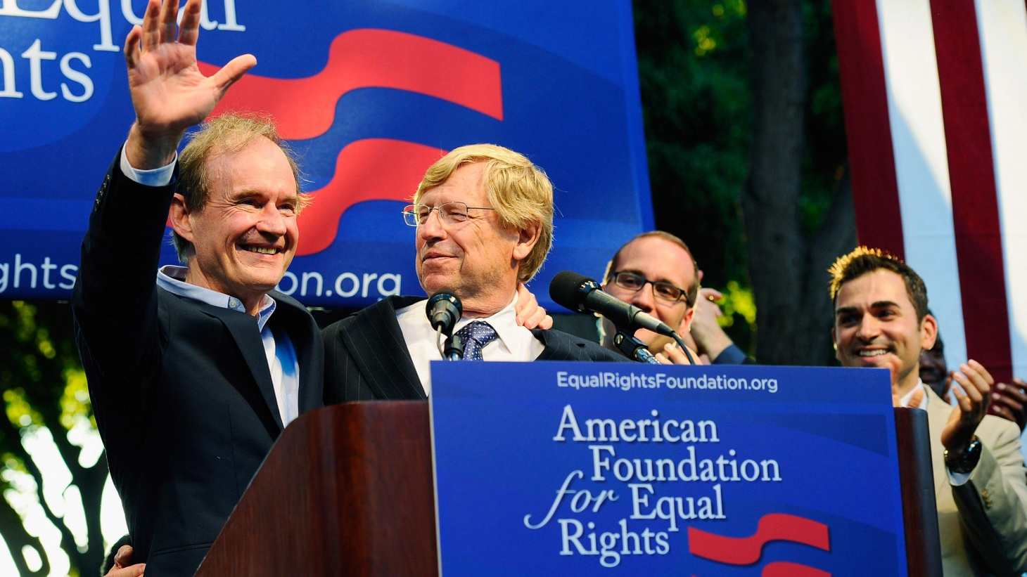 A federal judge has overturned California's ban on same-sex marriage. Another federal judge threw out part of Arizona's tough immigration law. And voters in Missouri this week said no to a federal requirement to buy health insurance. We talk about law, politics and states' rights, and the evolution of public opinion on same-sex marriage. Also, the US charges 14 linked to a Somali terror group.