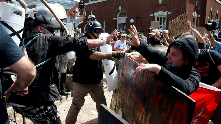 After Charlottesville, the ACLU takes another look at free speech and violence.