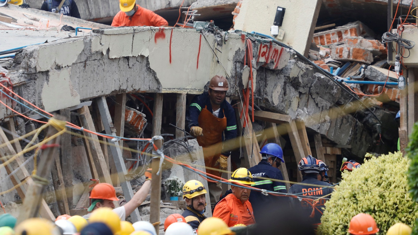 As we go to air, it's been roughly 48 hours since Mexico City was hit by a massive earthquake -- 32 years to the day since a previous tremor destroyed much of the city. At least 230 people have died.