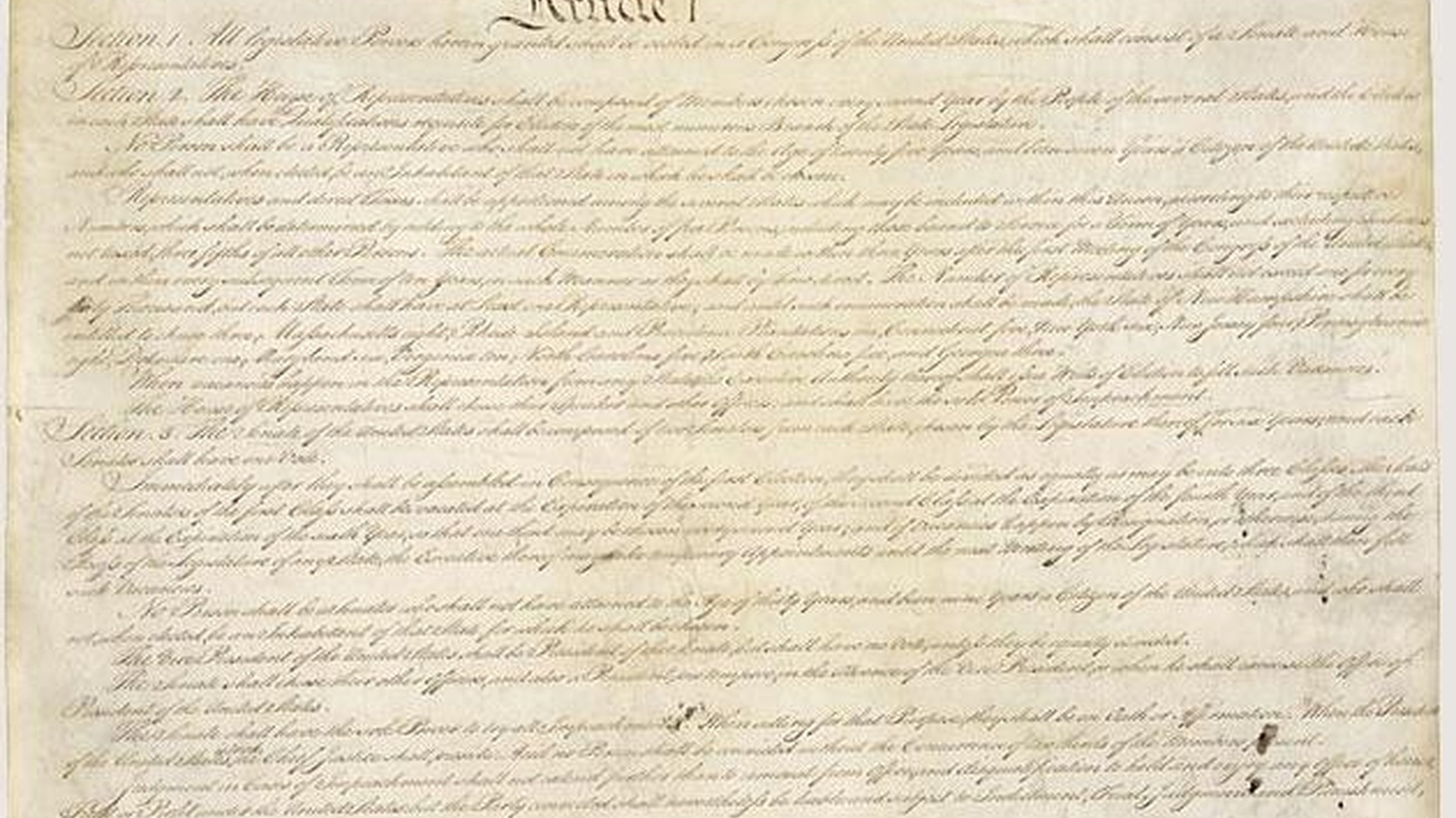 """Republicans now controlling the House claim the Constitution demands reductions in the size of government. Is America's founding document all that clear? We get a variety of opinions reflecting how open it is to different interpretations. Also, Obama's economic team and unemployment, and """"citizen scientists"""" outclass computers."""
