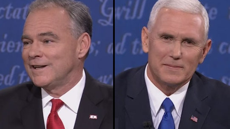 Mike Pence and Tim Kaine surprised the prognosticators in last night's vice presidential debate, introducing themselves to the voting public with a lively set of exchanges.