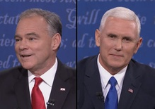 The vice-presidential candidates' debate