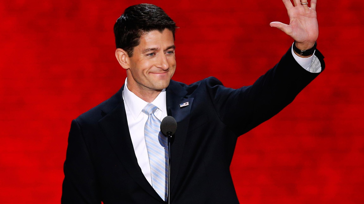 We hear excerpts from Paul Ryan's national coming-out speech and sample a range of opinions. Also, Condoleezza Rice on foreign policy and the appeal to Latinos.