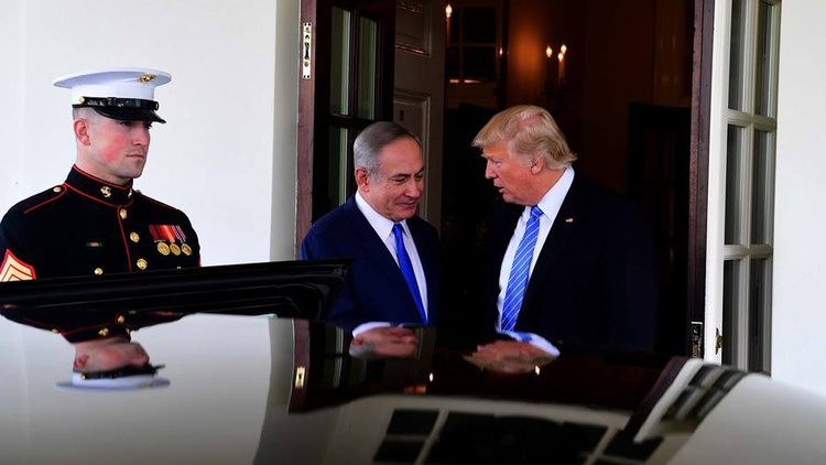 """Photo courtesy Avi Ohayon, Israeli Government Press Office   Yesterday, President Trump  brushed aside the so-called """"two state solution""""  to resolve conflicts between Israel and the…"""
