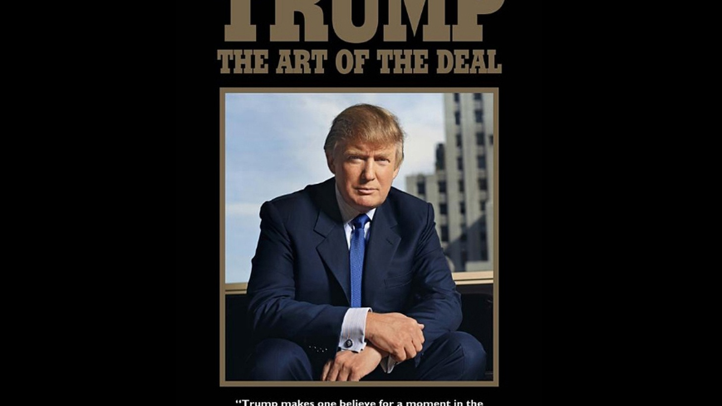 "In 1987, the bestselling book  The Art of the Deal  made America see Trump as a charmer with an unfailing knack for business. Tony Schwartz helped create that myth — and regrets it."" Those are the headlines in the New Yorker's latest issue, over an article called, "" Donald Trump's Ghostwriter Tells All ."""
