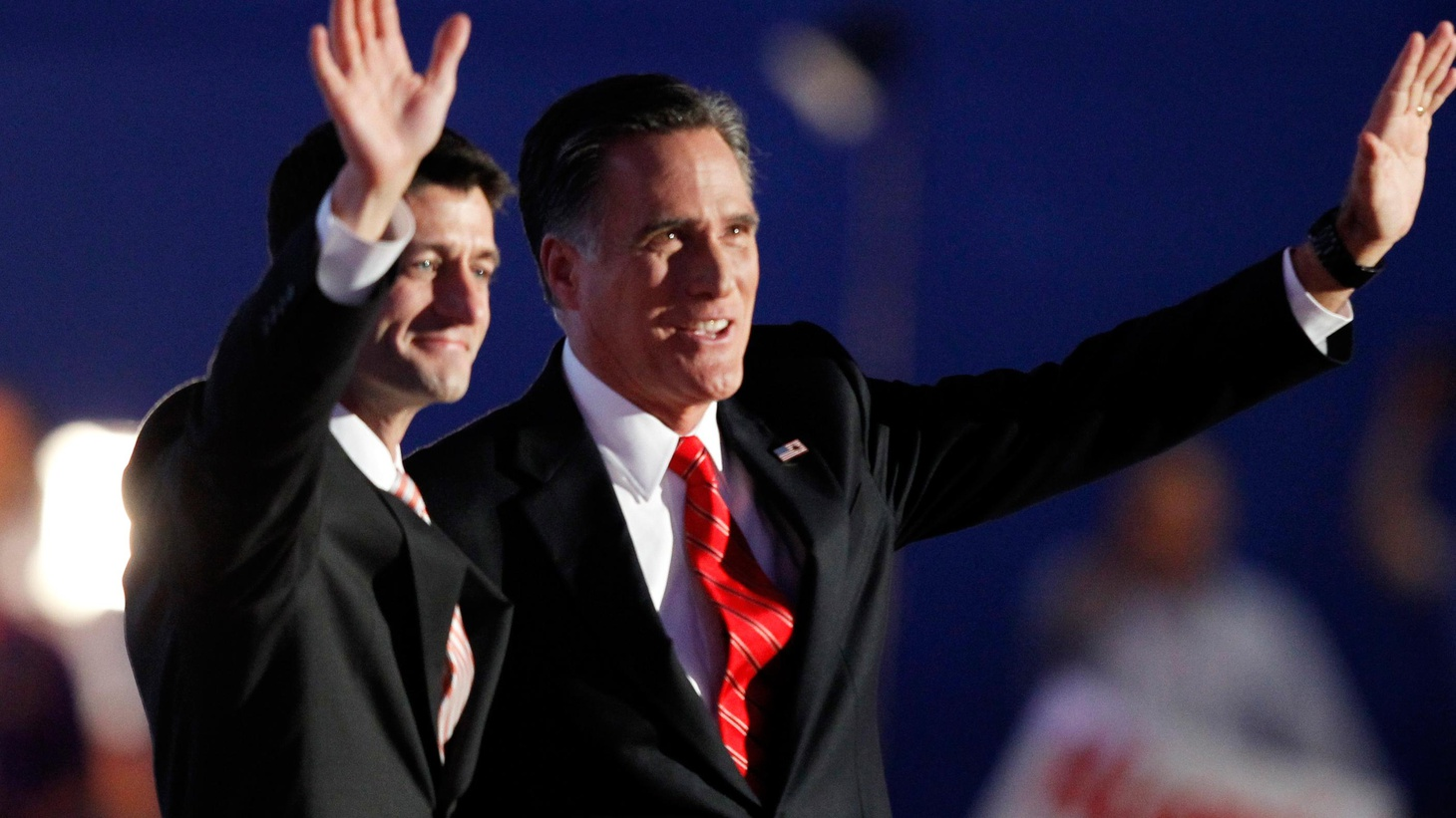 """In his speech accepting the GOP nomination, Mitt Romney tried to present his """"human"""" side, rally the base and reach out to swing voters. Did he pull it off?"""