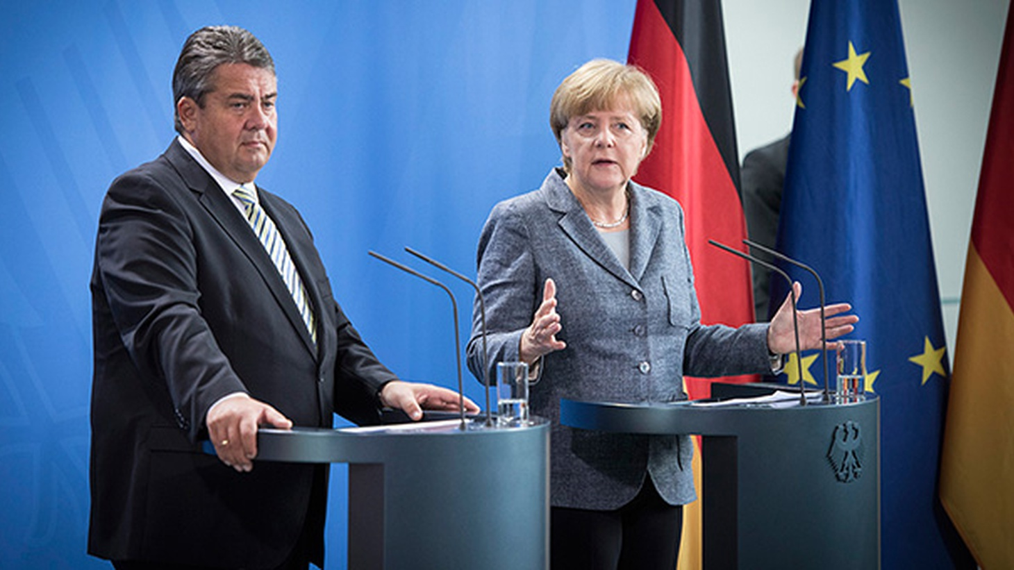 While other countries in Europe are building walls and setting up police lines, Germany is urging widespread acceptance of refugees. German Chancellor Angela  Merkel has told Germans  to brace for an influx of refugees — promising to accept a half-million new people every year for the next five years.