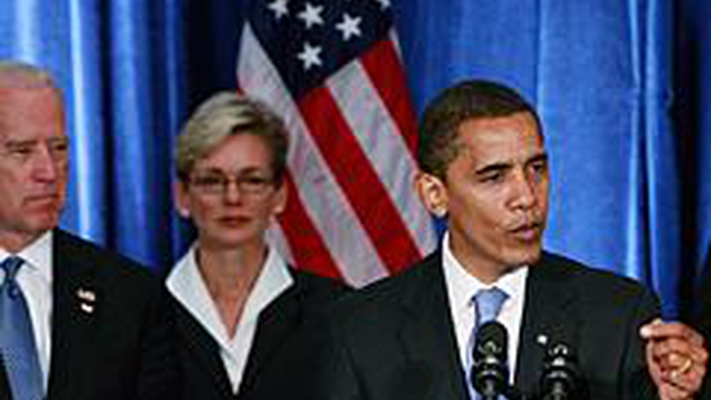 Barack Obama has said the economic crisis means that a range of