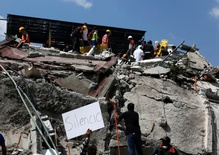 Mexico City digs out from another earthquake