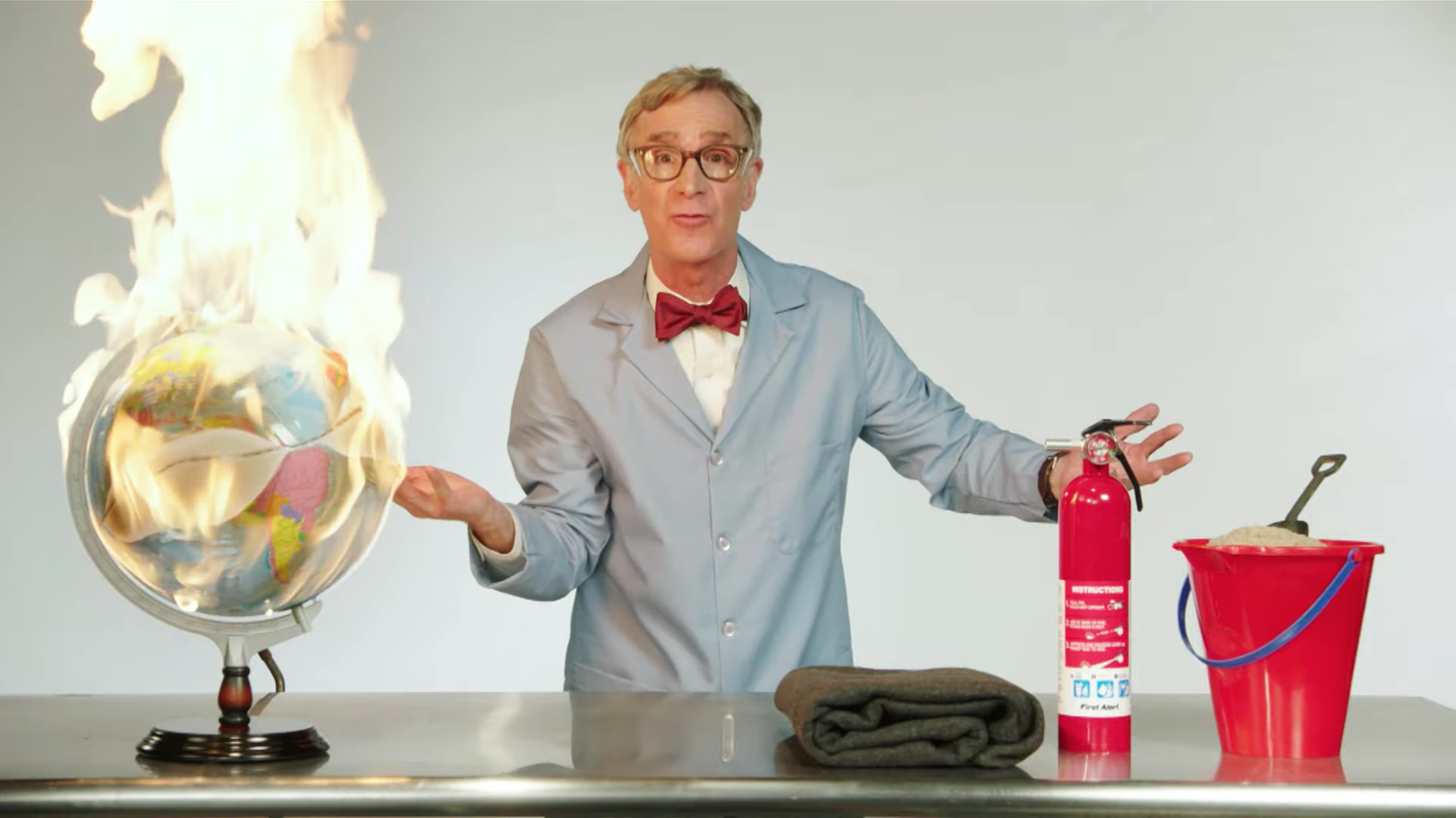 Bill Nye on 'Last Week Tonight with John Oliver.'