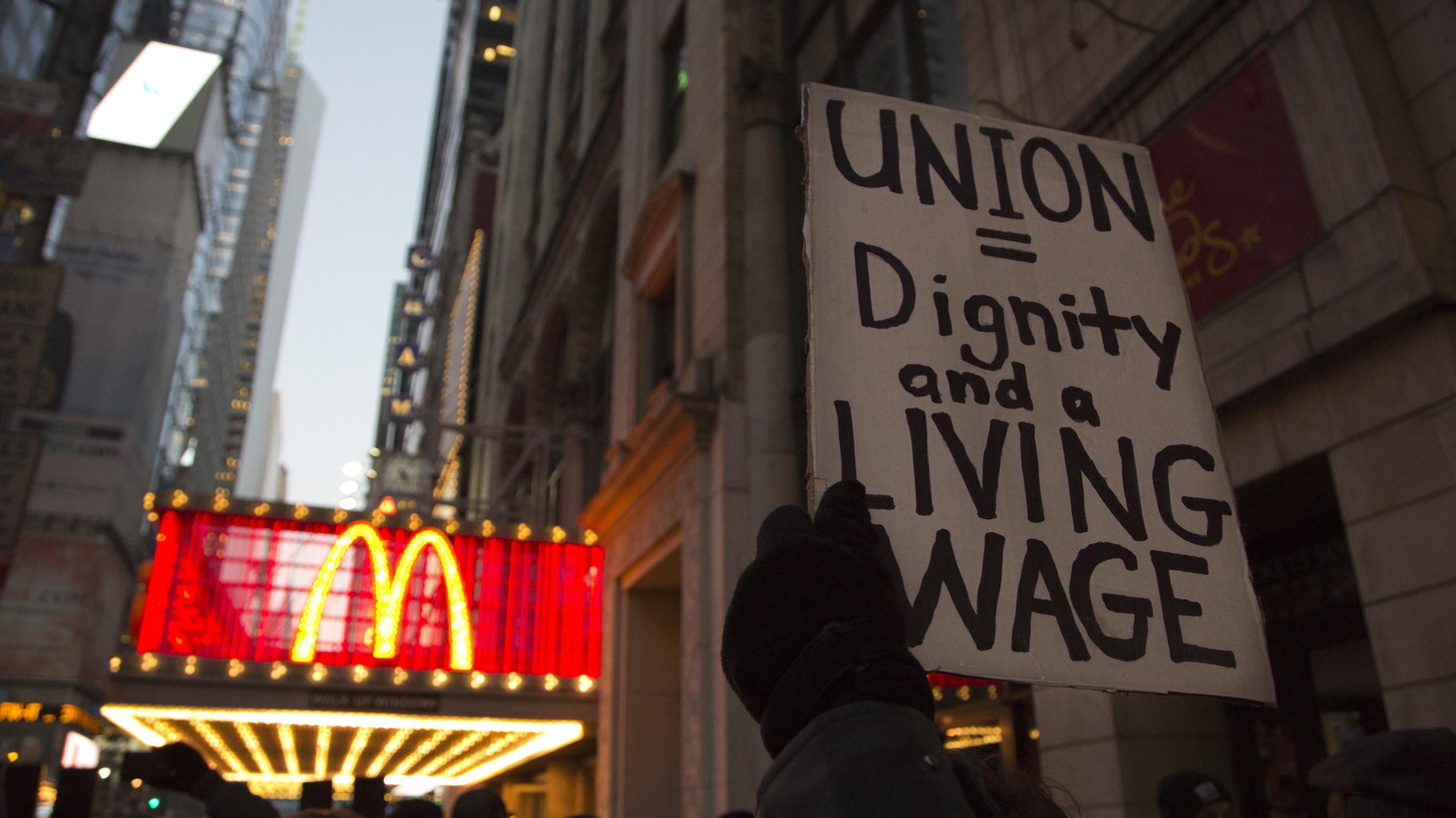 Hundreds of fast-food workers in 7 cities have walked off their jobs this week, in hopes of raising public consciousness about low pay and working conditions.