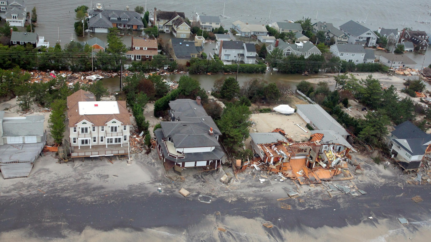 New York's Governor Cuomo says the lesson of Superstorm Sandy is the vulnerability of coastal development to climate change.  Instead of rebuilding damaged properties...