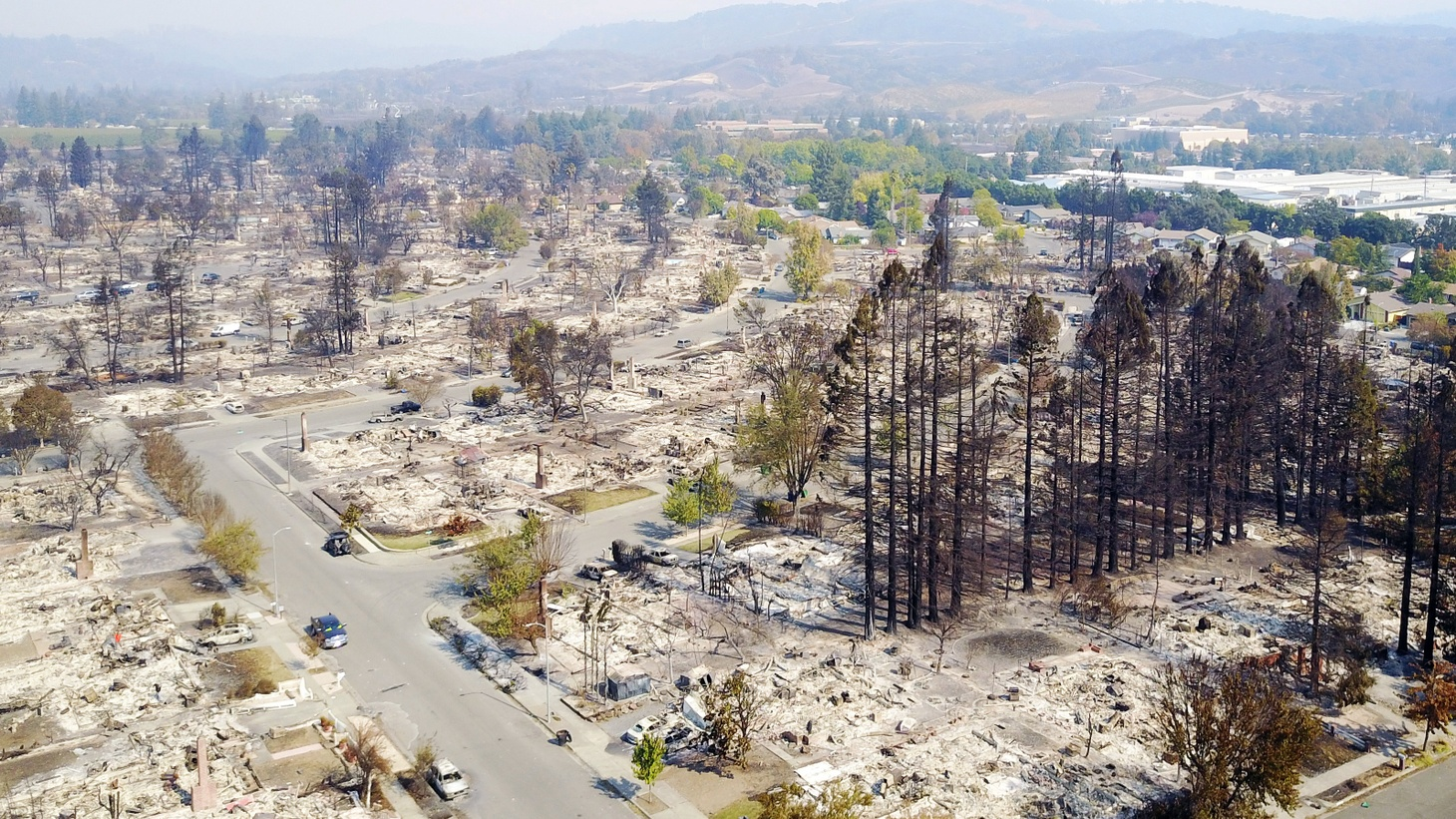 Wildfire is all too familiar in the Golden State, but last week's record-setting blazes in Northern California left behind something new — more property damage over a wider area with more human casualties than ever before. We hear about likely causes, the struggle to clean up and the possibility of prevention.