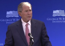 George W. calls out bigotry and bullying in American politics