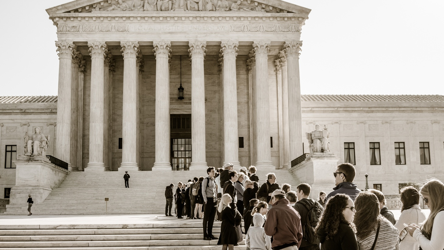 The US Supreme Court began its latest session with a thunderous silence: not even explaining why it refused to consider same-sex marriage. The court may be off to a quiet start, but it's famously divided, and legal thinkers aren't ruling out the prospect of big noise before the term is all over.
